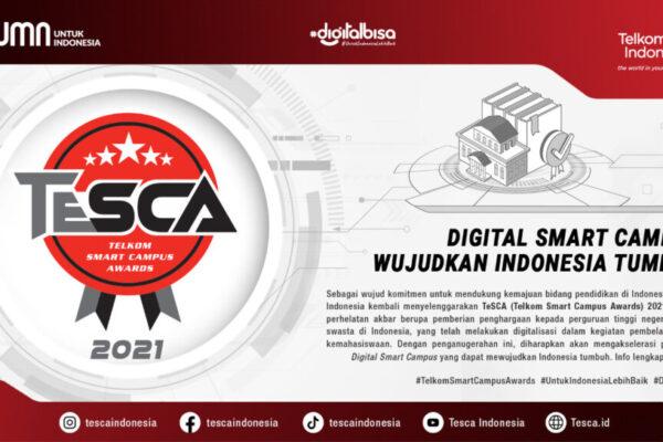 TesCA 2021, tingkatkan digital adoption dan digital creativity perguruan tinggi Indonesia
