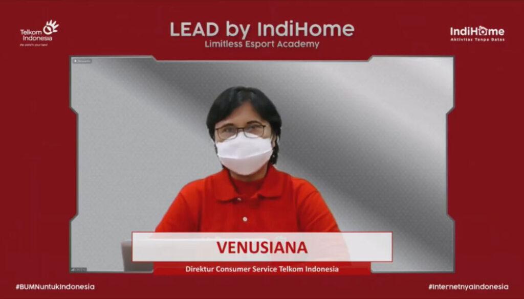 Direktur Consumer Service Telkom, Venusiana. Foto Istimewa
