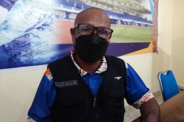 Kepala Dinas Pekerjaan Umum Kabupaten Jayapura, Alpius Toam. Foto Irfan