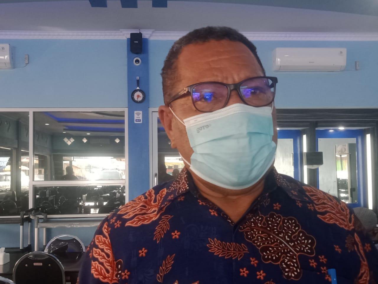 Ketua LSM Papua Bangkit, Hengky Jokhu. Foto Irfan