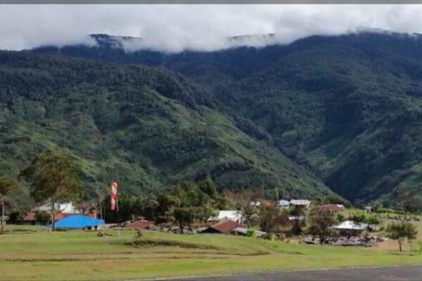 Situasi terkini di Kiwirok, Pegunungan Bintang, Papua. Foto Istimewa