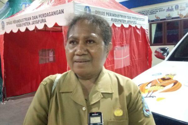 Koordinator Sub Bidang Sosial Ekonomi pada Sub PB PON XX yang juga Kepala Dinas Pengendalian Penduduk dan Keluarga Berencana (DP2KB) Kabupaten Jayapura, Yos Levie Yoku