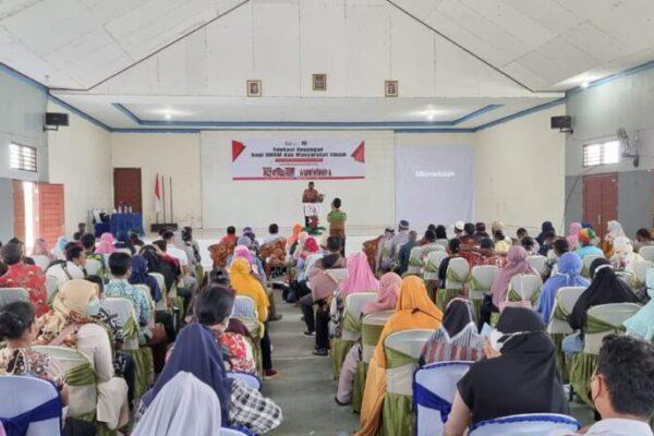 Suasana edukasi keuangan yang diselenggarakan OJK bersama IJK, di Sorong, Papua Barat. (Foto : Istimewa)