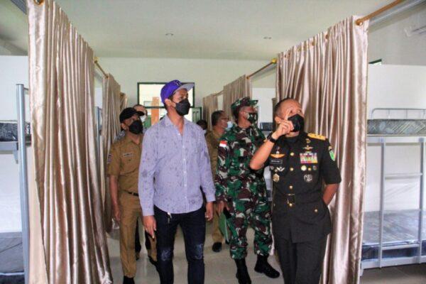 Pangdam Cenderawasih, Mayjen TNI Ignatius Yogo Triyono mengecek secara langsung persiapan akomodasi.