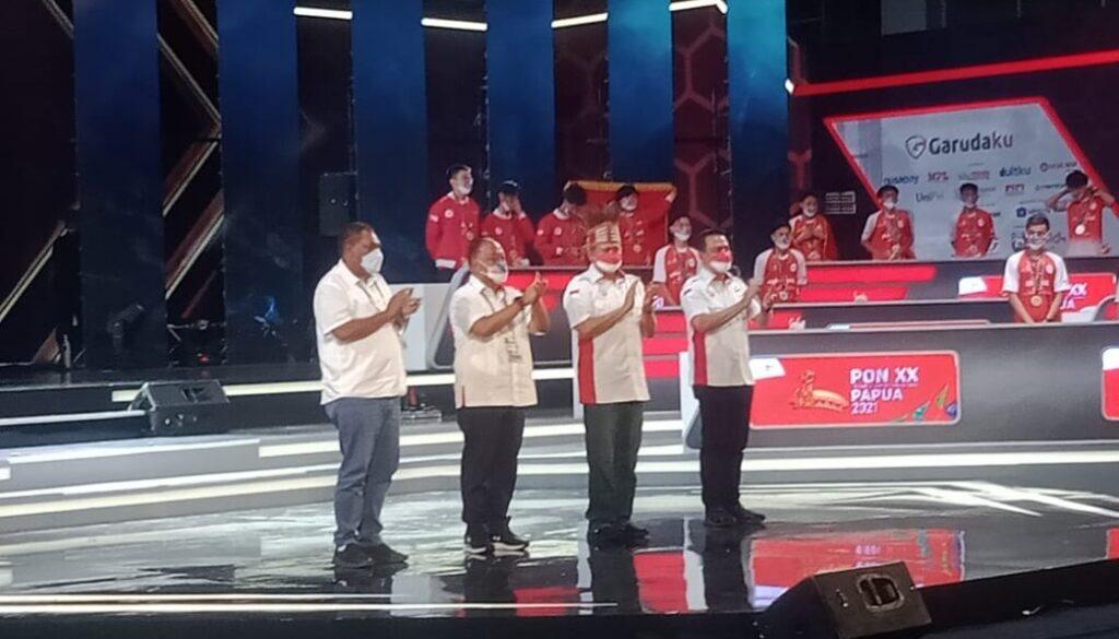 Penutupan Eksibisi Esports PON XX Papua Tahun 2021. (Foto : Irfan)