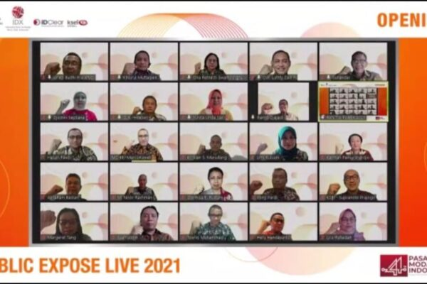 Pubex Live 2021 diselenggarakan BEI.