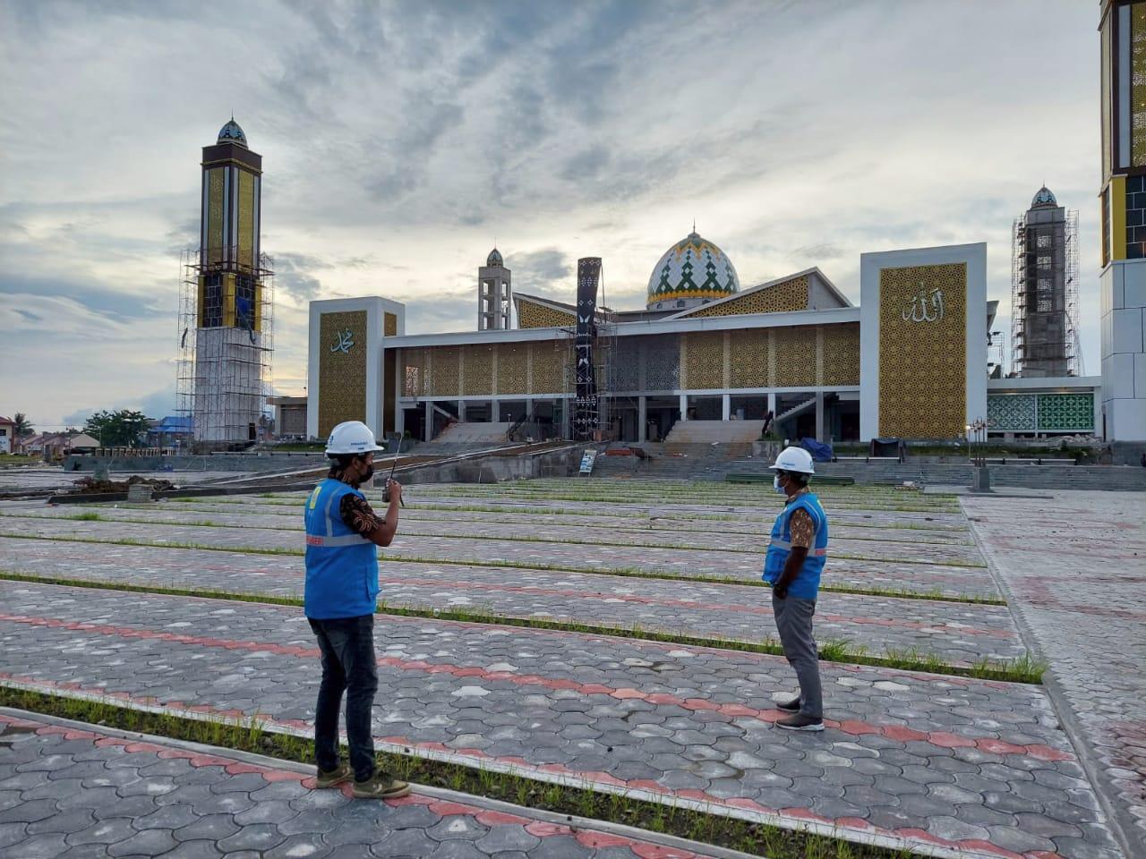 Tempat pelaksanaan STQ Nasional ke- XXVI di Maluku Utara. (Foto : Istimewa)