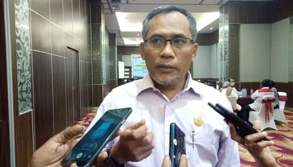 Wakil Ketua Pansus LHP BPK RI DPR Papua, H Kusmanto.. Foto Tiara