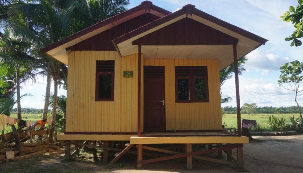 Rumah untuk masyarakat di Merauke.