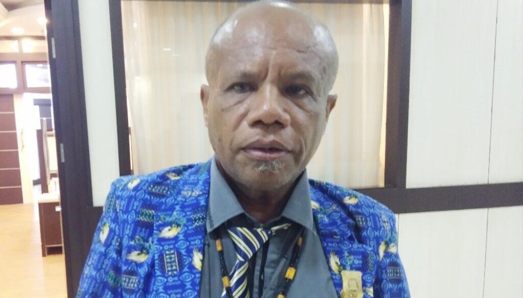Anggota Komisi I DPR Papua, Yonas Alfons Nussy.