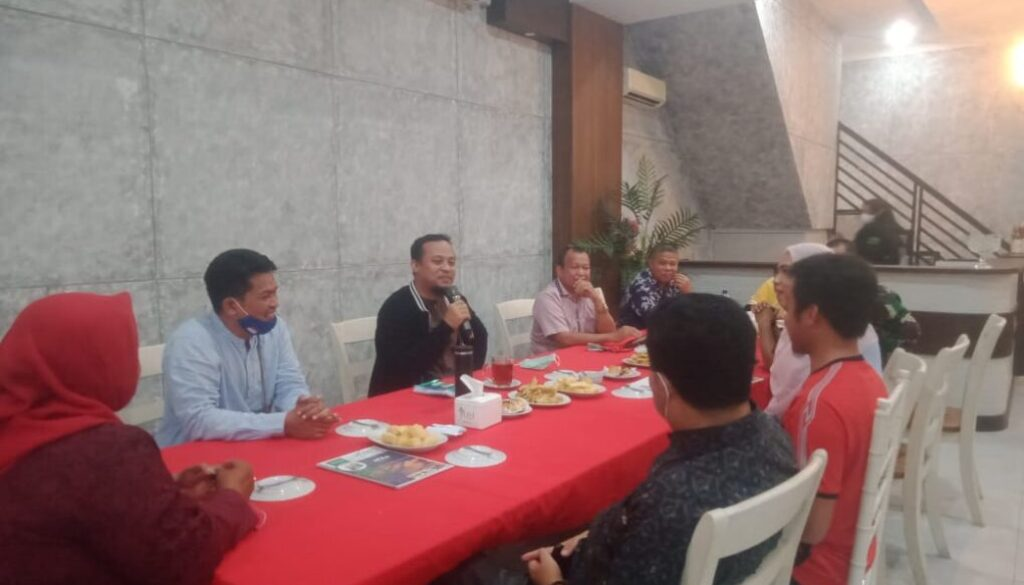 Plt. Gubernur Sulawesi Selatan, Andi Sudirman Sulaiman silaturahmi bersama warga perantau Sulsel.