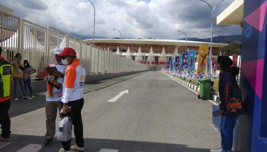 Stadion Lukas Enembe tempat closing ceremony PON XX Papua 2021. (Foto : Syahriah)